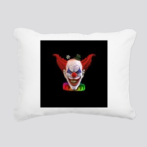 Hobo The Evil Clown Rectangular Canvas Pillow
